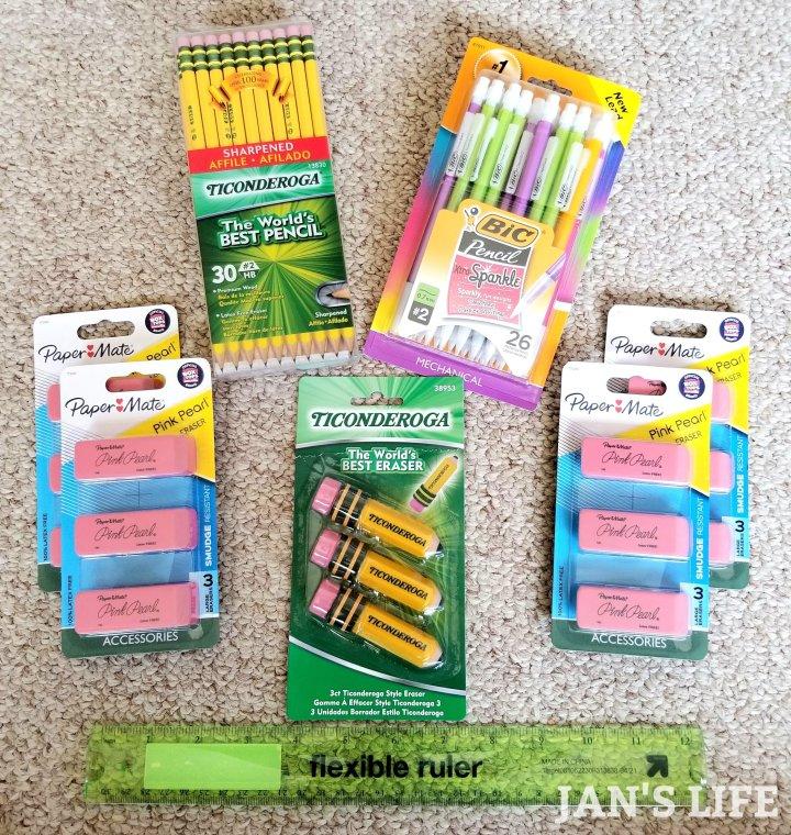 math school supplies